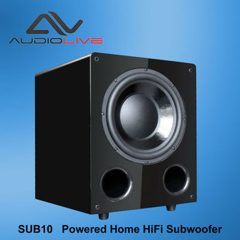 China supply powerful home HiFi subwoofer 8 inch ,10 inch ,12 inch bass woofer speaker