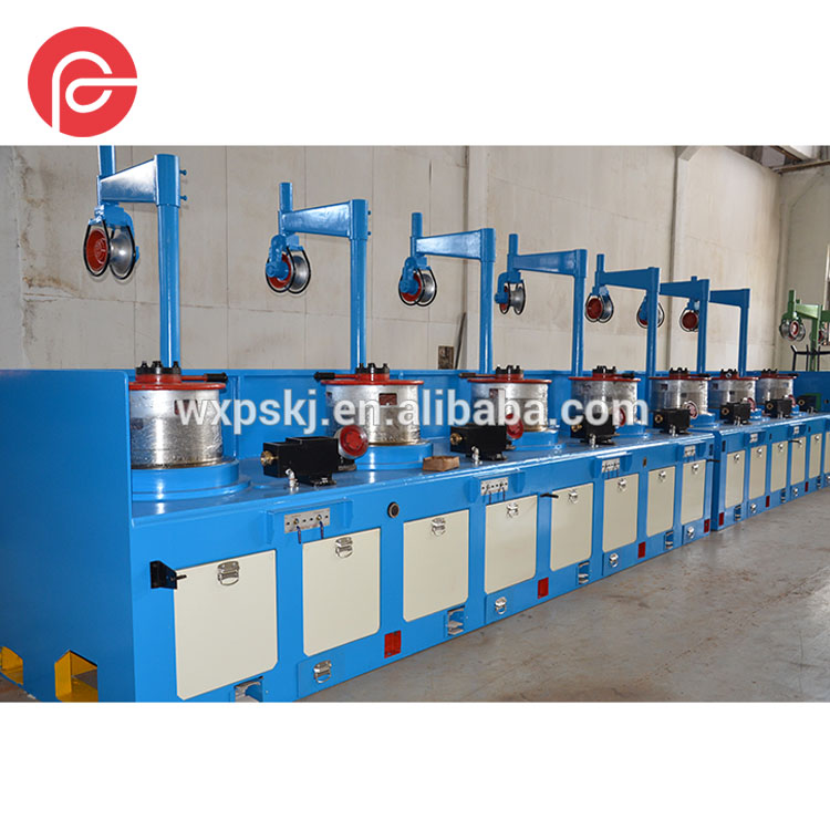 Advanced good quality cheap OTO/Pulley type wire drawing machine for nail and mesh making with inverter and PLC control