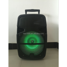 re-chargeable active battery bluetooth Colorful disco light speaker