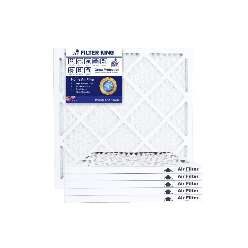 Nordic Pure 11/_7//8x16/_7//8x1 Exact MERV 10 Pleated AC Furnace Air Filters 1 Pack