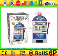 Lucky Jumbo Slot Games money box machine push toys for crane machines for Kids