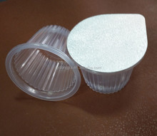 Lids Running In The Automatic Filling & Sealing Aluminium Foil Machine