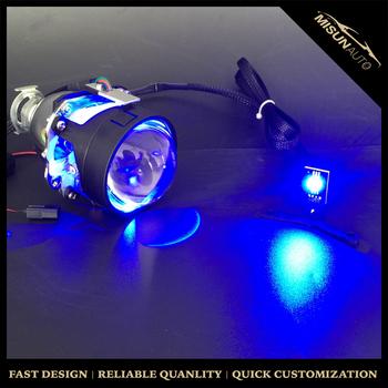 Led Devil Eyes Demon Eye 3 Inch Car Headlight Projector Lens H Ella Q5  Projector Lens Retrofit - Buy Devil Eyes Headlight,Devil Eyes Headlight