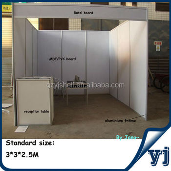 Simple Exhibition Stand Design : Simple mdf aluminum profile trade show booth design aluminum