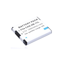 1PCS Rechargeable 3.7V 1200mAh NB-11L NB-11LH Lithium-Ion Battery Pack For Canon A2500 A2600 SX400 IS ELPH 350 HS DSLR Cameras