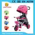 BABY TRIKE WITH LUXURY BIG SEAT CAN BE ROTATED WITH SUSPENSION HIGH CLASS CHILDREN TRICYCLE