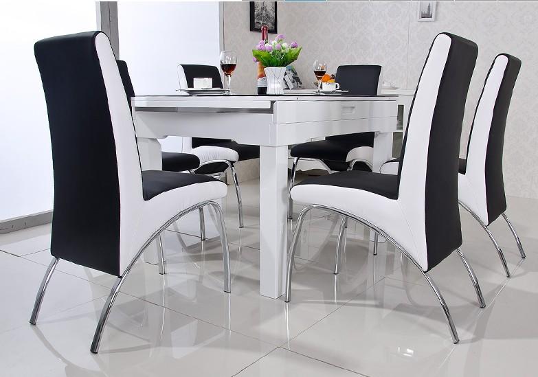 Aliexpress Com Buy Modern Dining Chair Pu Leather V