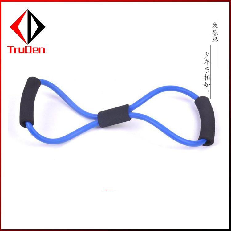 OEM colorful resistance band handles