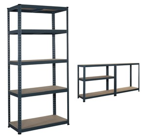 Exported to cosco steel racking Boltless warehouse shelving