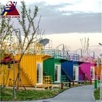 Resort Prefabricated Shipping Container Modular Hotel