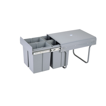 Recycle Bin Of Kitchen Cabinet Hot Bin Pull To Open Kitchen Sorting  Cabinets Plastic Recycling Bin - Buy Recycle Bin,Kitchen Recycling  Bin,Kitchen ...