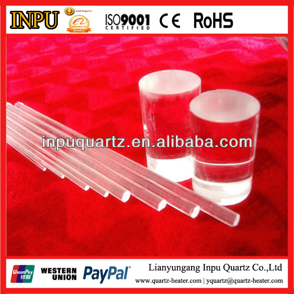 Fused Silica Clear Quartz Glass Bar
