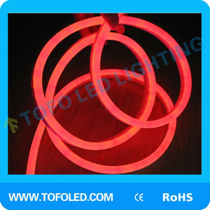 dimmable led neon flex R/G/B/Y/W led neon flex rope light