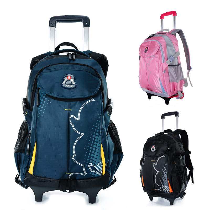 72d70d326592 Buy Trolley School Bag Travel Bag Backpack With Wheels Back To School  Backpack For Girls Boys Bag Backpacks Men Schoolbag Bagpack in Cheap Price  on ...
