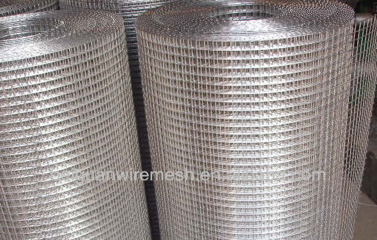 low price galvanized welded wire mesh saled by factory