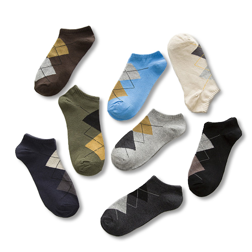 Mens business socks funky ankle cotton socks very cheap with good quality