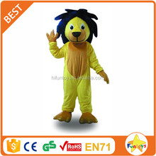 Funtoys CE Yellow Lion Mascot Costume Animal Walking Actor for Show