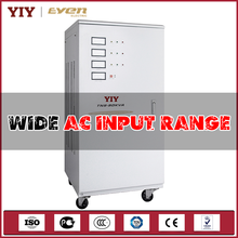 50kva 3 phase automatic voltage regulator servo type voltage stabilizers electric generator
