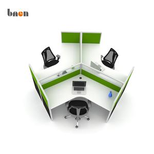 Honeycomb design office workstation for 3 person