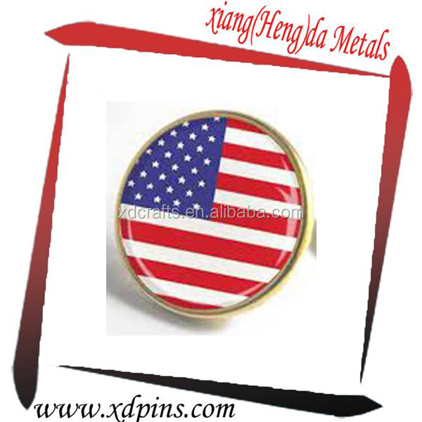 offer US collectible coin lapel pin for activities