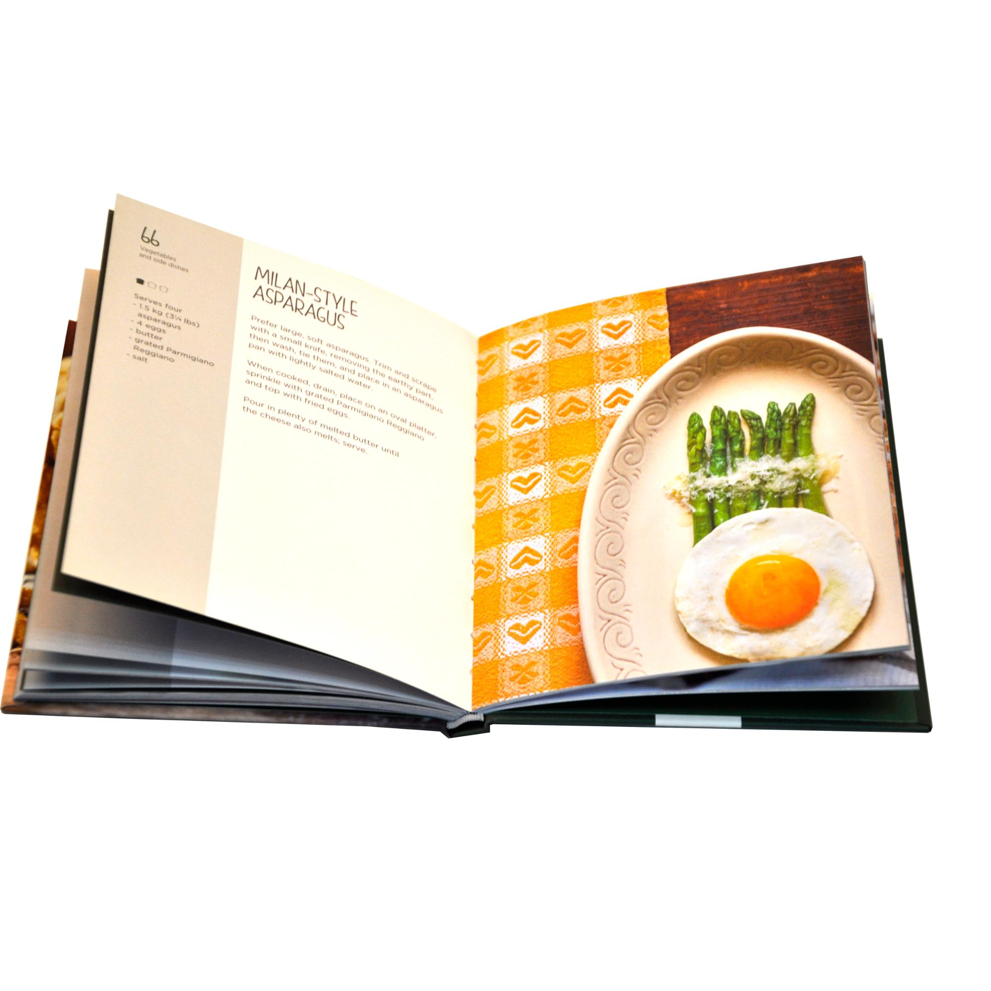 China amazing cheap perfect bound cooking book printing service