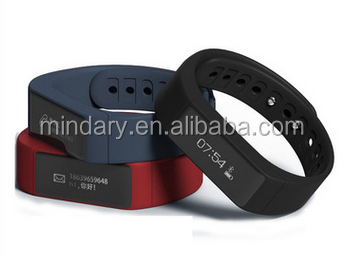 i5plus fitness tracker&band with touch panel, steps calories caller id i5 Plus message text display