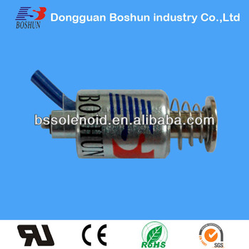 Bs-1114t Tubular Solenoid Miniature Solenoid - Buy Mini Solenoid,Push-pull  Tubular Solenoid,Small Size Solenoid Product on Alibaba com