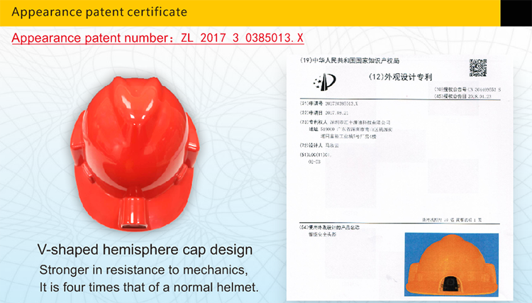 2019 New Design Smart safety Helmet With built in camera