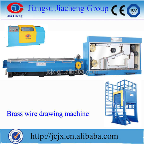 China edm brass wire drawing machine with annealing
