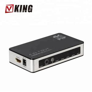4K x 2K 4 Port 4 x 1 HDMI Switch with PIP and IR Wireless Remote Control,  HDMI Switcher Hub Port Switches