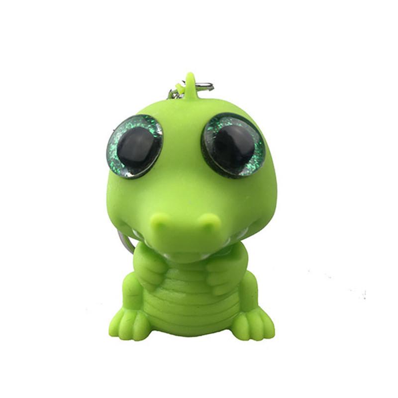 Promotional Crocodile Glitter Eyes Pop Plastic Keychains 816a13af2235