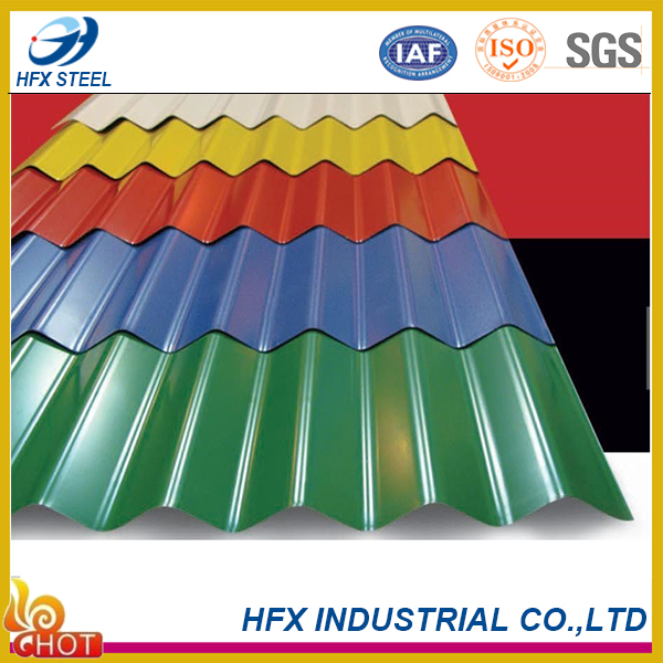High Quality Colored Corrugated Roof Sheets from China to Africa