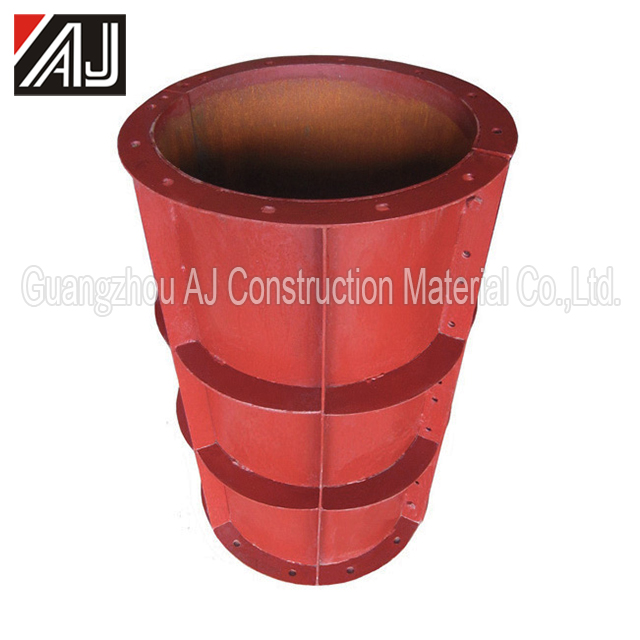 Round steel column formwork/template for construction