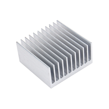 High Performance Custom Made Cooling Accessories Aluminum 6063 Heatsink 400mm for Industrial