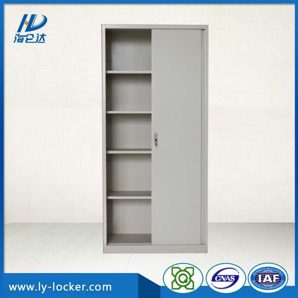 Factory Price Steel Storage Cabinet With 2 Sliding Doors