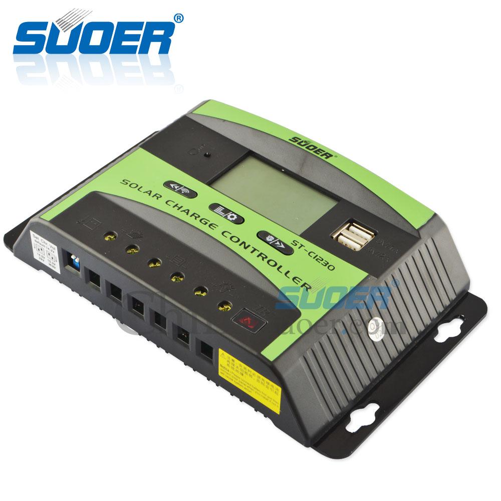 Photovoltaik-zubehör Steca Pr 3030 Solarcontroller 12/24v 30a