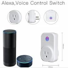 Home Automation Phone Remote Control Wifi Smart Plug Socket working with Amazon Alexa echo