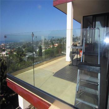 10mm 12mm Frameless Tempered Glass Deck Railing Pr-b66 ...