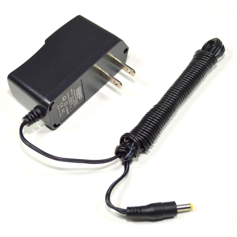 HQRP AC Power Adapter for Omron BP760N BP761N BP765 BP765CAN 7 Series ; BP785N / BP785BJ 10 Series Upper Arm Blood Pressure Monitor, 6 Ft Long cord plus HQRP Euro Plug Adapter