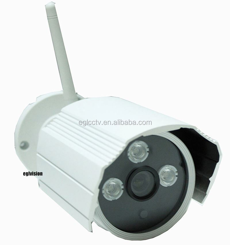 720P 1.0Mp hp ip bullet camera wireless camera security 3.6mm lens wide angle HD P2P ONVIF