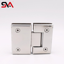 Furniture hardware fittings two way concealed glass shower door hinge