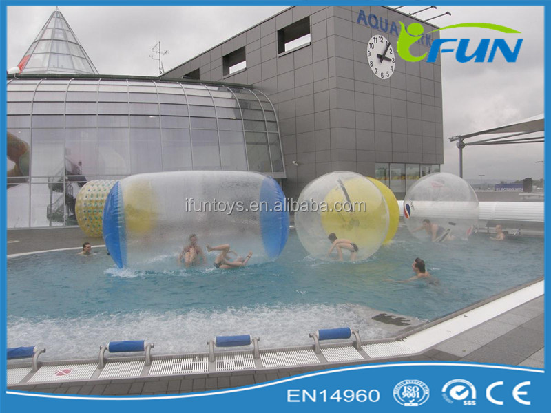 Most Exciting Super Fun Inflatable Aqua Roller/human Water Bubble ...