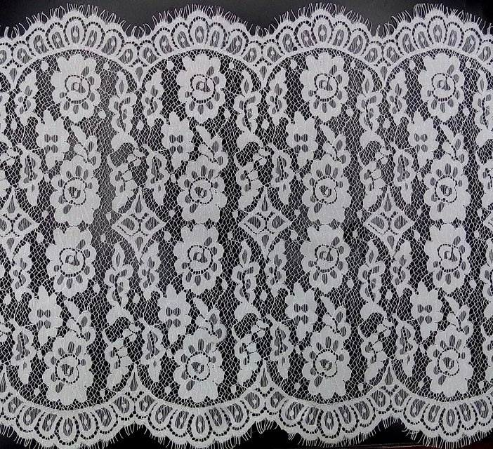 New lace dress lace fabric skull fabric sample book