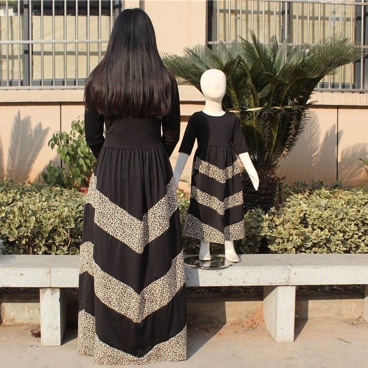 New arrival women simple long muslim dress china wholesale