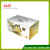 High quality but cheap milk outer carton with plastic handle