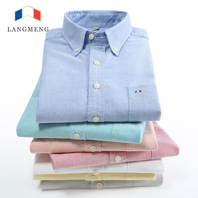 5XL 100% хлопка полосатой рубашке мужчины твердые белый мужские рубашки тонкой длинным рукавом социальной бренд свободного покроя camisas хомбре