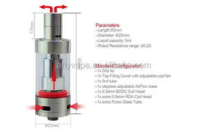 Top Rdas 2020.Innovative Coil Head Anyvape Furytank With Bsdc Coil Atomizer In Stock