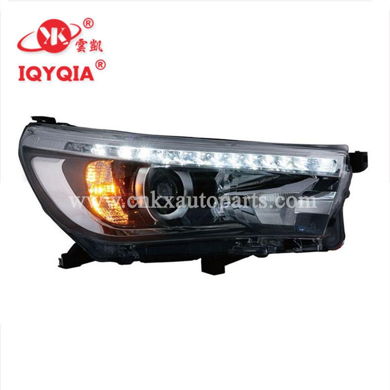 Auto teile lampe typ auto led scheinwerfer für HILUX REVO 2015-mit OEM 81150-0K720 81110-0K720