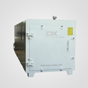 High frequency vacuum dryer kiln for wood