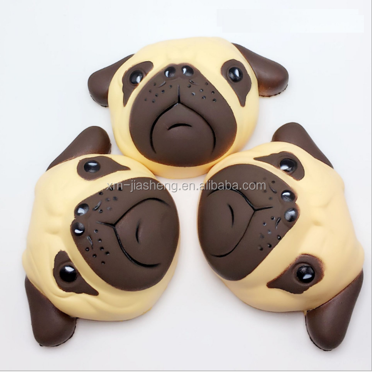 Cellphones & Telecommunications Punctual Novelty Cute Anti-stress Slow Rising Pugs Puppy Little Dog Pu Toys Squeeze Squishes Joke Toys New Arrival Matching In Colour Mobile Phone Accessories